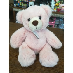 Peluche Ours Rose 25 cm