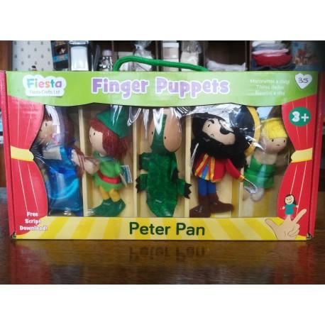 Marionnettes à doigt Peter Pan