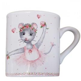 Mug souris peint à la main