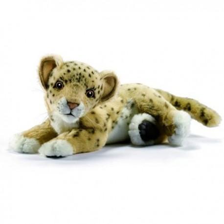Peluche Bébé Leopard couché 26 cm