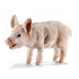 Peluche Cochon à 4 Pattes 18 cm