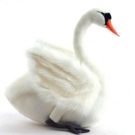Peluche Cygne Blanc 27 cm