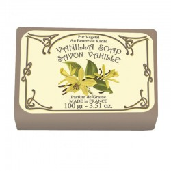 Lot de 2 savons - Parfum Vanille