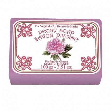 Lot de 2 savons - Parfum Pivoine