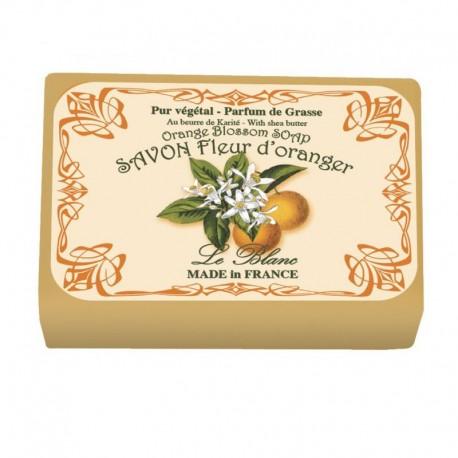 Lot de 2 savons - Parfum Fleur d'oranger