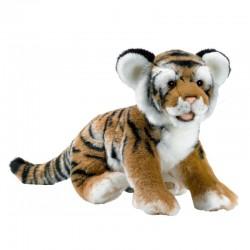 Tigre Brun Couché 35 cm