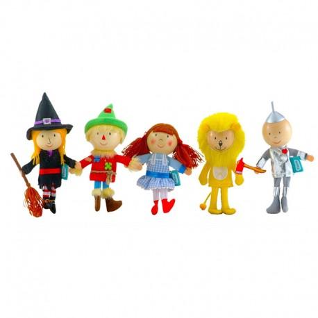 Marionnettes à doigts - Le Magicien d'Oz