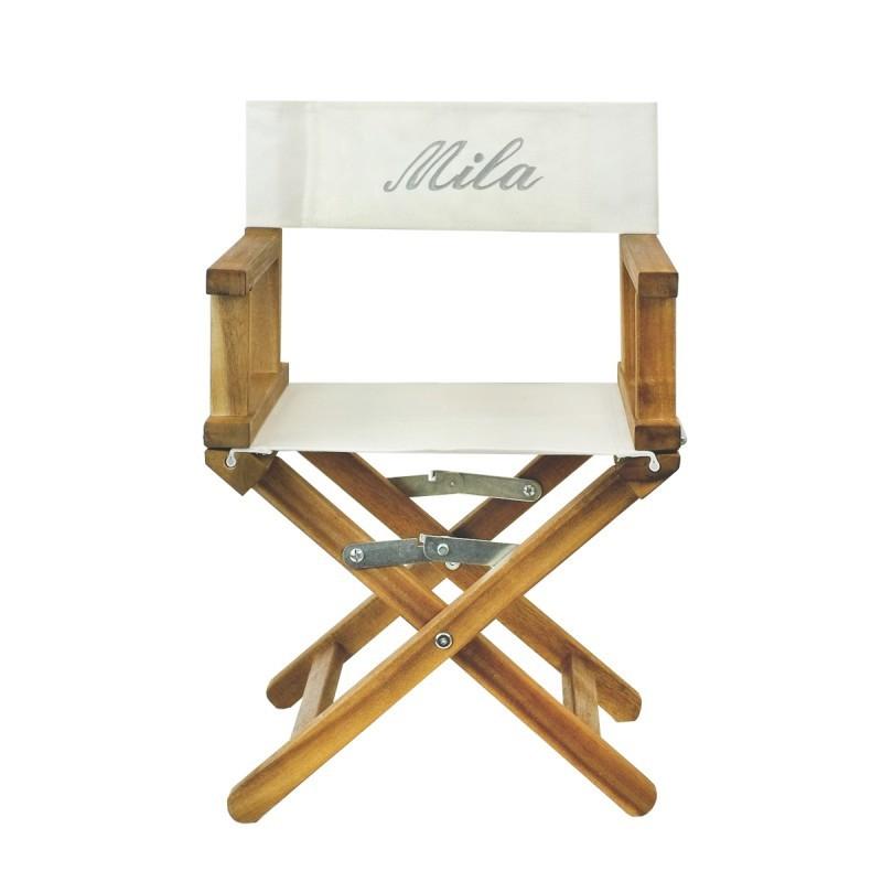 fauteuil de metteur en sc ne personnalisable. Black Bedroom Furniture Sets. Home Design Ideas