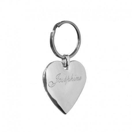 Porte-clés coeur personnalisable