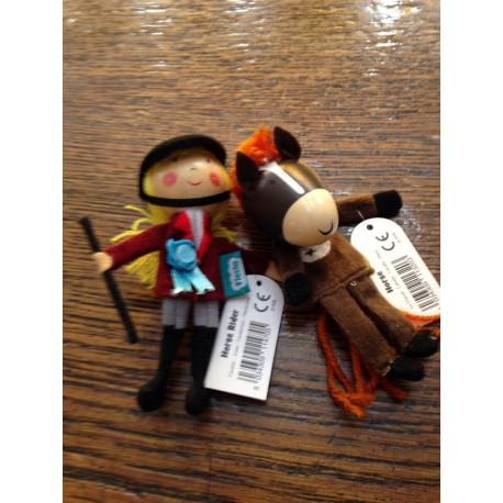 Marionnettes à doigts - Le Petit Chaperon rouge