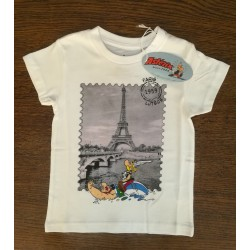 Tee-shirt Astérix Seine et Tour Eiffel